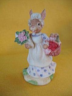 Bunnykins By Royal Doulton | Royal Doulton 1996 Mrs.Bunnykins Figurine (Royal Doulton) at A Time ...