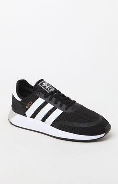 sale retailer acc55 161d5 N-5923 Black   White Shoes Black And White Shoes, Adidas Sneakers, Pacsun