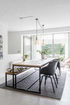 Eetkamer   dinner room   vtwonen 06-2017   Fotografie & styling Jonah Samyn
