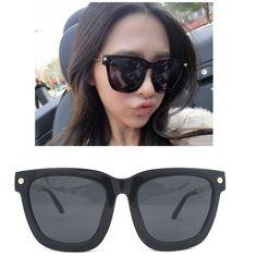 JONTE Chic Black Square Frame Sunglasses Women Men Metal Plastic Combi Glasses #JONTE #Square