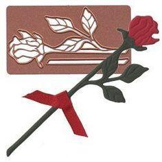 Spellbinders Embossing, Stencilling & Cutting Die - Rose