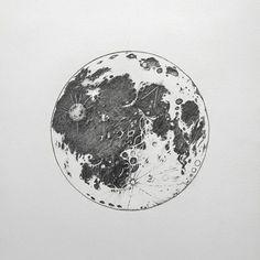 moon tattoo art on Instagram