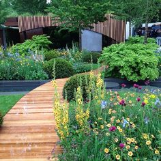 The Homebase Urban Retreat Garden designed by Adam Frost