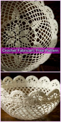 Yarnspirations is the spot to find countless free intermediate crochet patterns, including the Aunt Lydia's Filigree Bowl. Browse our large free collection of patterns & get crafting today! Crochet Thread Patterns, Crochet Patterns For Beginners, Crochet Stitches, Doily Patterns, Crochet Flowers, Crochet Lace, Free Crochet, Freeform Crochet, Crochet Bowl