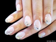 not a big fan of rounded nails, but cute design!