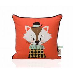 Cojin Aristo el gato para la habitación de los peques