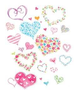 Leading Illustration & Publishing Agency based in London, New York & Marbella. Diy And Crafts, Paper Crafts, Phone Background Patterns, Love Backgrounds, Heart Template, Valentines Art, I Love Heart, Heart Wallpaper, Decoupage Paper