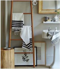 Chic simple bathroom.