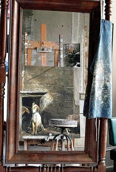 Who is that in the Mirror?: andrew wyeth