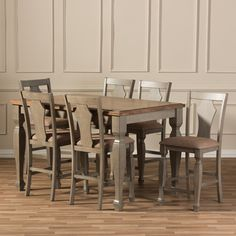 trevelin 7-pc. dining set | dining sets | raymour and flanigan, Esstisch ideennn