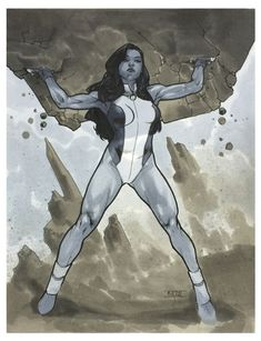#She #Hulk #Fan #Art. (She Hulk) By: Mahmud Asrar. ÅWESOMENESS!!!™ ÅÅÅ+