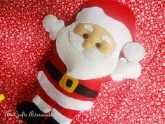Santa Claus felt #felt #santaclaus #Christmas