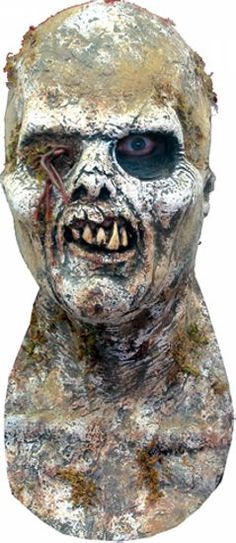 #WalkingDead Scary Lifelike Zombie Mask. Scare your friends with this Fulci Latex Matex