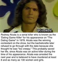 """The Dating Game Killer"" Rodney Alcala Crime and Punishment (@TrueCrimeHub) | Twitter"
