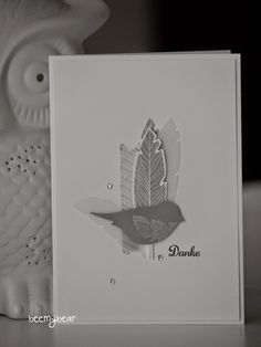 stampin with beemybear - Four Feathers, Stampin Up
