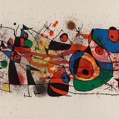 """Joan Miró """"Ceramiques"""" Farblithographie von 1974   Auctionata"""
