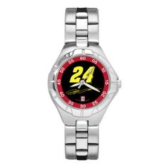 Jeff Gordon #24 Ladies Pro II Sport Watch..I am not a watch person but I would totally wear this