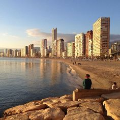 Hello there Benidorm Alicante, Costa, Balearic Islands, Bella, New York Skyline, Paradise, Summer, Travel, Dune