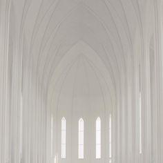 #whitesunday on monday • #minimalism #white #iceland #minimal #mnml #architecture photo by [@]bubblegarden