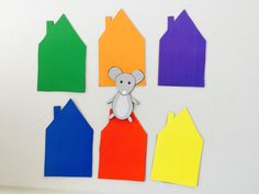Little mouse, are you in a red house? Printable game for toddlers. creative activities for toddlers, act Color Red Activities, Color Games For Toddlers, Creative Activities For Toddlers, 18 Month Old Activities, Circle Time Activities, Toddler Learning Activities, Montessori Activities, Infant Activities, Preschool Songs