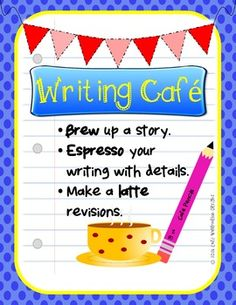 This is a cute cover page that you can use for your writing folders that will…