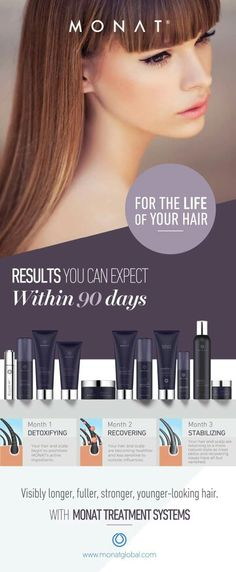 Do you want longer, stronger, younger looking hair? Get results with Monat. www.sonyamoore.mymonat.com