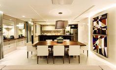 Cozinhas decoradas com pontos de cor - veja modelos modernos e dicas! - Decor Salteado - Blog de Decoração e Arquitetura