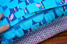 How to make cushion covers with a hidden zipper