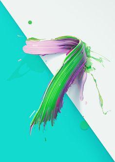 http://www.pixelsick.com/paint-typography-by-pawel-nolbert/