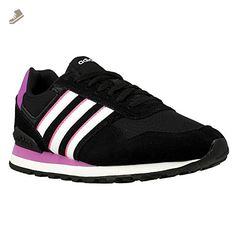Adidas - 10K W - AW4932 - Color: Black-Pink - Size: 8.5 - Adidas sneakers for women (*Amazon Partner-Link)