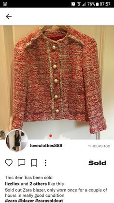 6ffcce32b44a3b Finally got one of depop now I own the full suit  zara teeed boucle jacket