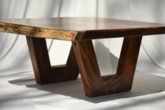 Live Edge Guanacaste Coffee Table