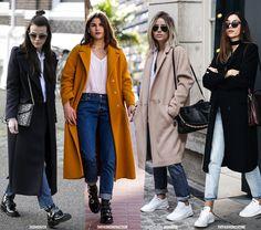 The Coat Plus Denim Looks