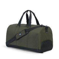 Tom-- Herschel Supply, Novel Duffle (we need new duffle bags because ours are worn out!)