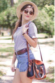 White-stripes-thrifted-shirt
