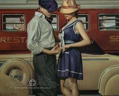 Peregrine Heathcote was born in London in 1973. His talent was aged 12 when he began to actively attend classes at Heatherly, School of Art ...