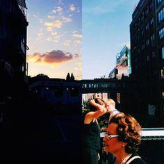 Couple Illustrates Their Long Distance Relationship Through Diptychs – Fubiz Media