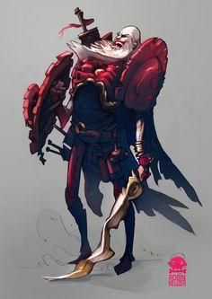 Faust - clockwork guardian by RobinKeijzer.deviantart.com on @deviantART