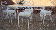 Salterini Classic 1960's 9 piece set including couch, 2 chairs, table, dining table 4 dining chairs offered on eBay for $2,500.00