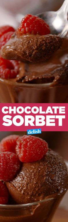This Chocolate Sorbet Is So Fudgy, You Won't Believe It's Dairy-Free