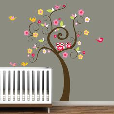 Children Wall Decals Nursery Tree Decal Wall by Modernwalls