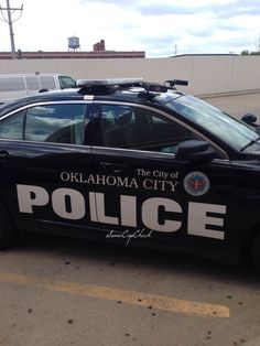 Oklahoma City, Oklahoma Police patrol car with ALPR (Automated License Plate Reader) Police Gear, Police Officer, Radios, 4x4, Emergency Vehicles, Police Vehicles, Police Patrol, Car Badges, Cars Usa