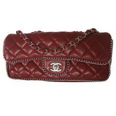 e680b7ee5e24ce Sacs à main Chanel Timeless chain around Cuir Rouge ref.27664 - Joli Closet