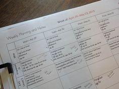 Homeschool Planning Links at Homeschool Classroom