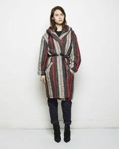 Isabel Marant / Ibo Kaftan Coat Isabel Marant Étoile / Ivan Corduroy Pant Isabel Marant / Andrew Boot #pf14