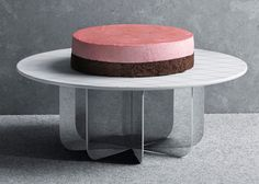 Tea with Georg by Scholten & Baijings for Georg Jensen. Cake stand with silver base