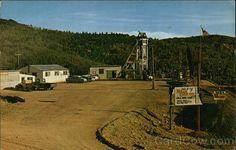 Cripple Creek CO The Mollie Kathleen Mine Teller County Colorado Chrome Postcard