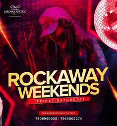 Weekend should never go wrong! Join our Rockaway Weekends to explore real fun and thrill. For details and booking inquiries, call 7408940008 or