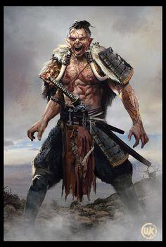 Orc-Samurai, worasak suwannarach