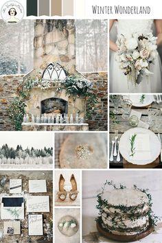 Winter Wonderland Snow Dusted Wedding Inspiration